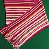 Детский длинный полосатый шарфик