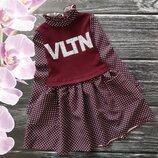 Мега стильное платье VLNT для девчонок