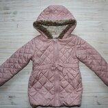 Красивая куртка niki nicole miller на 2-3года Внутри флис