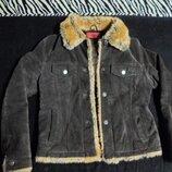 Куртка женская замшевая с подкладкой
