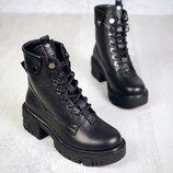 Код 6171 байка Код 6171-1 мех Удобные ботинки Siluet . Натуральная кожа. Подошва спереди 3 см. К