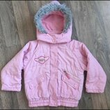 Куртка для девочки демисезонная 4 г , куртка демісезонна для дівчинки ,довжина 43,5 см, ширина під р
