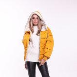 Женская двухцветная куртка, 8003