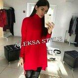 Платье туника 42-44-46 размеры 3 цвета