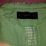 Пиджак салатовый Zara
