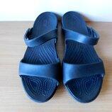 Шлепанцы, шлёпки, босоножки Crocs W6 стелька 23,5 см
