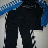 Спортивный костюм на мальчика 7-8 лет adidas оригинал