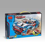 Конструктор Decool 3377 Аналог Lego Technic 42077 Гоночный Автомобиль 2в1 1005 деталей