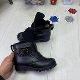 Зимние ботинки, натуральная кожа, 36-41