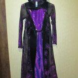 Очень красивое платье дракула колдунья George 11-12лет