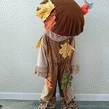 Прокат детский карнавальный костюм грибочек,гриб, боровик Белый Гриб на праздник осени Киев