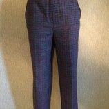 Трендовые классические укороченные брюки f&f 10 размер