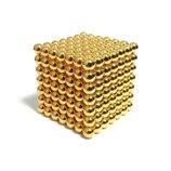 Неокуб NeoCube в боксе 216 шариков Золотой,цветной,стальной