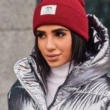 женская шапка в разных цветах нш 421