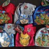 Комплект шапка и рукавички ля мальчиков Досней