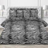 Черно-Белое постельное белье Нуар поплин, 100% хлопок