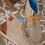 ботинки замша кожа 45-46 р