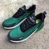 Мужские кроссовки Nike Air Max 270 Black/Green