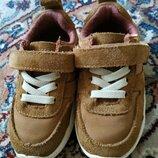 Кроссовки для малыша замш Zara