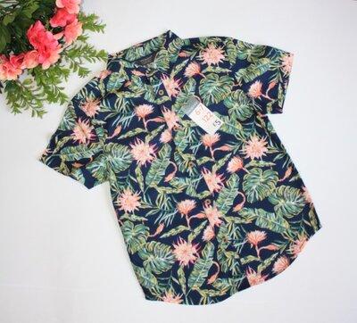Стильная рубашка р6-7 лет Primark