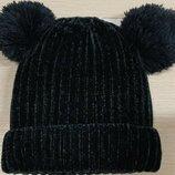 Фирменая шапочка на флисе 3-5лет