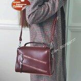Кожаный женский клатч натуральная кожа , кожаные сумки бордо KT42279