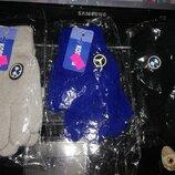Трикотажные перчатки для мальчика 5-8 лет