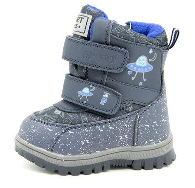 Ботинки для мальчиков Синие Размеры 23, 24, 25, 26, 27, 28