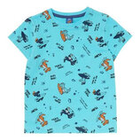 Яркая футболка kiki&koko германия р.116.122