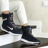 сапоги дутики зимние Nike женские