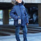 Новинка, зимняя куртка для мальчиков Ноэль, 134-158 см.