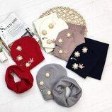 Комплект шапка хомут