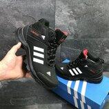 кроссовки зимние adidas climaproof ботинки зимние, мужские, черные