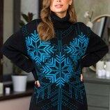 Тёплый свитер 44-52 р. 7 расцветок