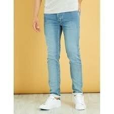 Мужские подростковые джинсы Slim французского бренда Kiabi, европа оригинал