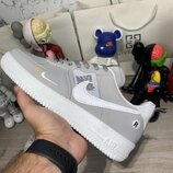 Кроссовки Nike Air Force 1 LV8 Utility Gray/White