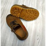 Туфли детские Эко замша
