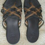 Crocs шлепки 39 р по ст 26 см ширина 10 см