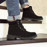 Мужские ботинки зима 8546 Timberland