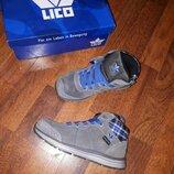 Утепленные замшевые ботинки lico 31