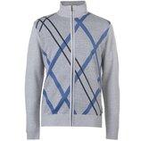 Мужская легкая кофта свитер на замке Pierre Cardin
