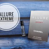 Пробник Chanel Allure Homme Sport Eau Extreme