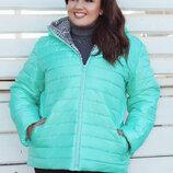 Куртка женская большого размера 50-52, 52-54