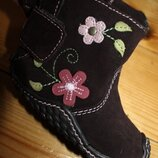 Ботинки Sox - tab. замша натуральная 12,5 см. стелька, высота от пола - 6 см., высота от пола - 9,5