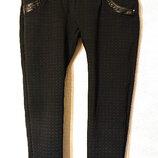 Женские зимние леггинсы брюки штаны L-XL, 46-48р легинсы лосины микрофлис