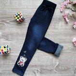 Новинка Тепленькі лосінки для модниць під джинс на Мєху