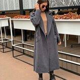 Новиночки Классное пальто деми, размеры 42- 52