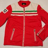 Мужская куртка олимпийка толстовка Ferrari XL, наш 50-52 флис Оригинал