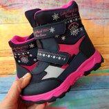 Термо ботинки для девочки Том. м, код 792