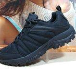 Термо кроссовки -Yike Waterproof черные 41р-46р